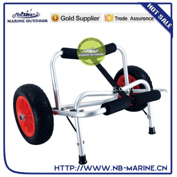 Kayak trailer with two PU wheels,good quality kayak trailer