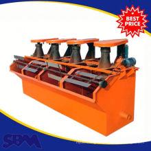 Machine de flottation d'extraction d'or longue durée