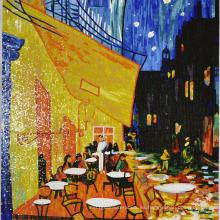 Imagen de mosaico Imagen de hombre hecho a mano Fangao