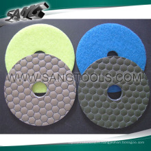 Stone Diamond Dry Wet Polishing Pad (SG-084)