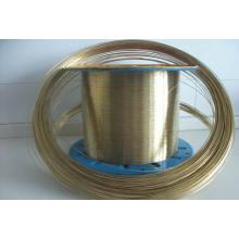 Alambre de acero recubierto de latón, alambre de manguera, alambre de cobre revestido de acero