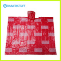 Promotional Adult Allover Printing PE Rain Poncho Rpe-003