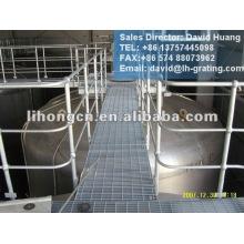 galvanized steel platform handrailing