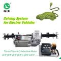 Четыре колеса электрический привод в сборе автомобиля