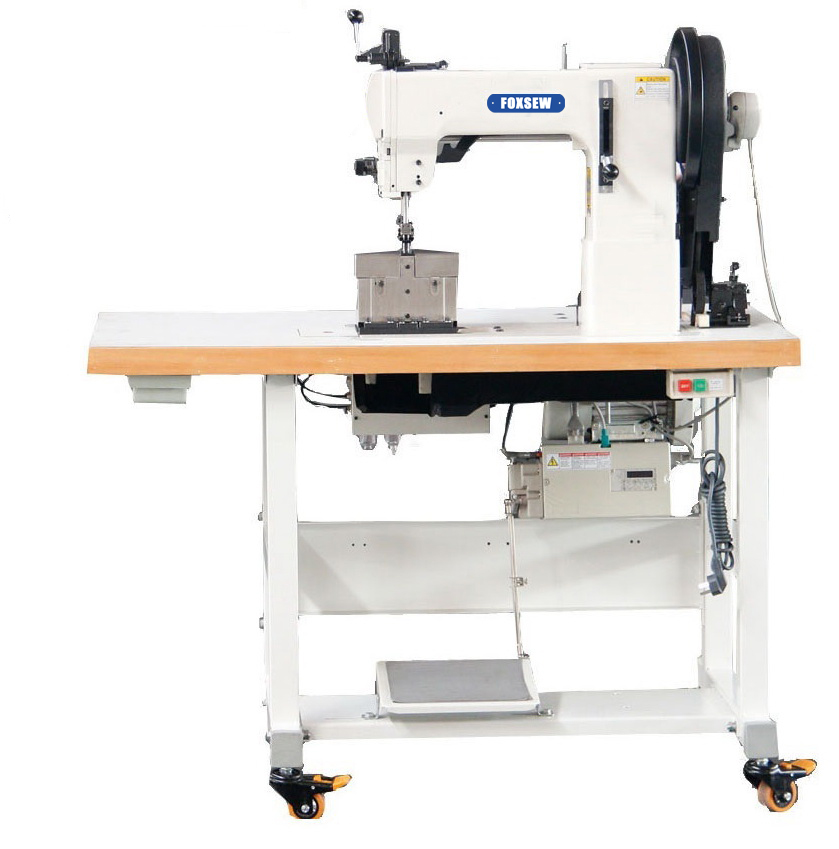 KD-204-370D Double Needle Post Bed Compound Feed Walking Foot Heavy Duty Lockstitch Sewing Machine