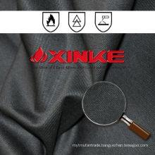 EN Standard 260Gsm Black CVC fr fabric For industry clothing