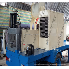 KR 18 Frame And Roof Sheet Machine/Convenient Mobile Roof Roll Forming Machine