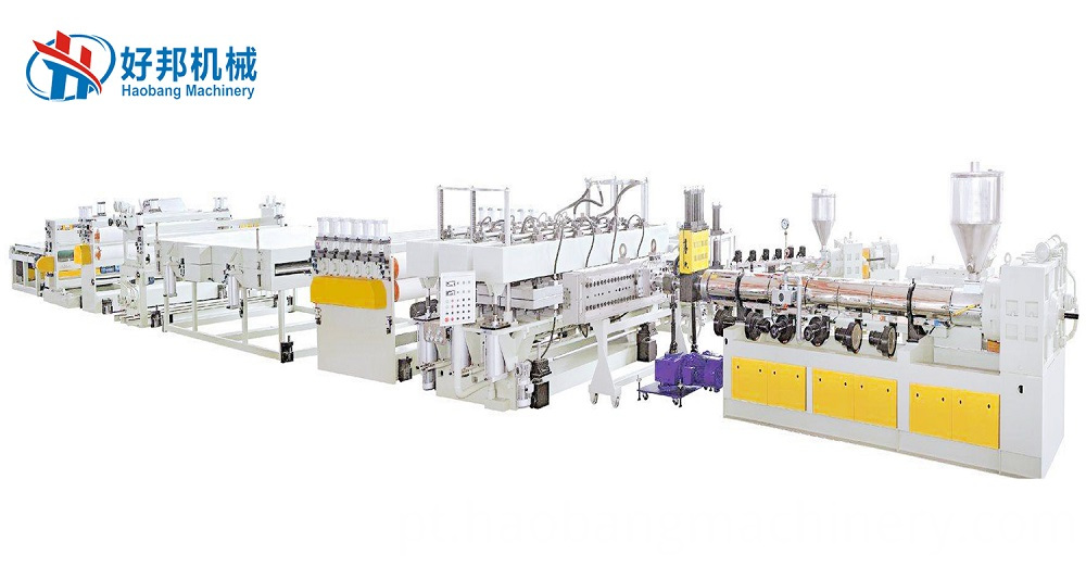 Pc Pp Hollow Sheet Machine Line