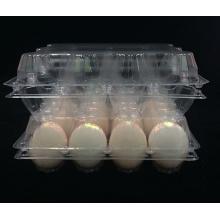Boîte d'emballage de récipient d'oeufs de PVC (plateau en plastique)