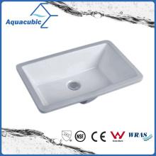 Salle de bain Undermount Square Lavatory Ceramic Basin (AB016)