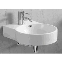 1054A Cuarto de baño redondo de cerámica