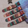 OEM Fashion Knit Canvas Bracelet Adjustable Watch Strap