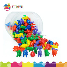 Plastic Animal Counters for Counting and Sorting