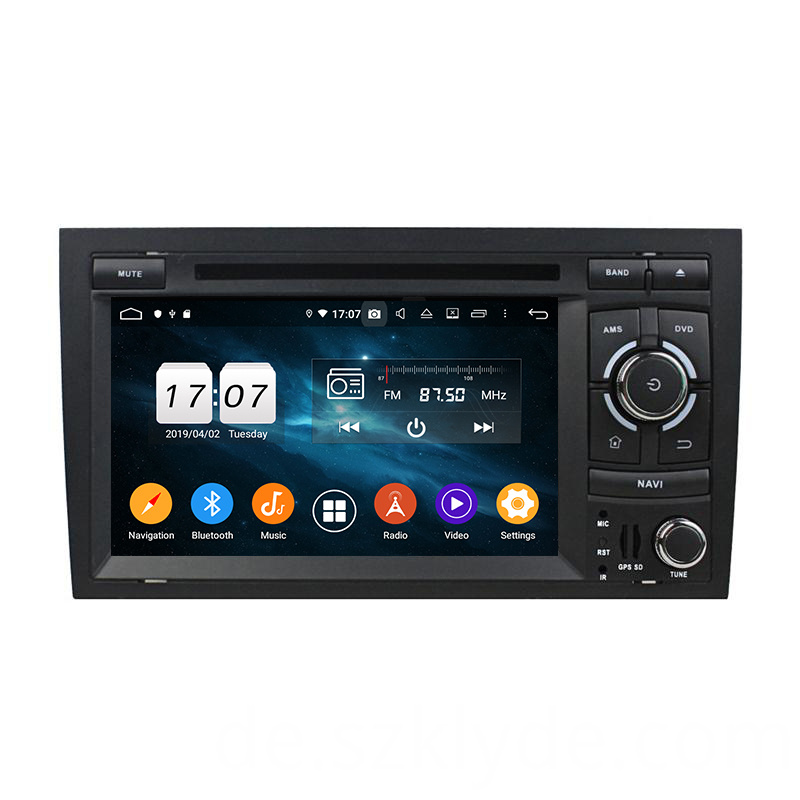 A4 Car Auto Multimedia Player