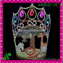 Venda Por Atacado New Designs Rhinestone Crown, fornecedores de china Tiara