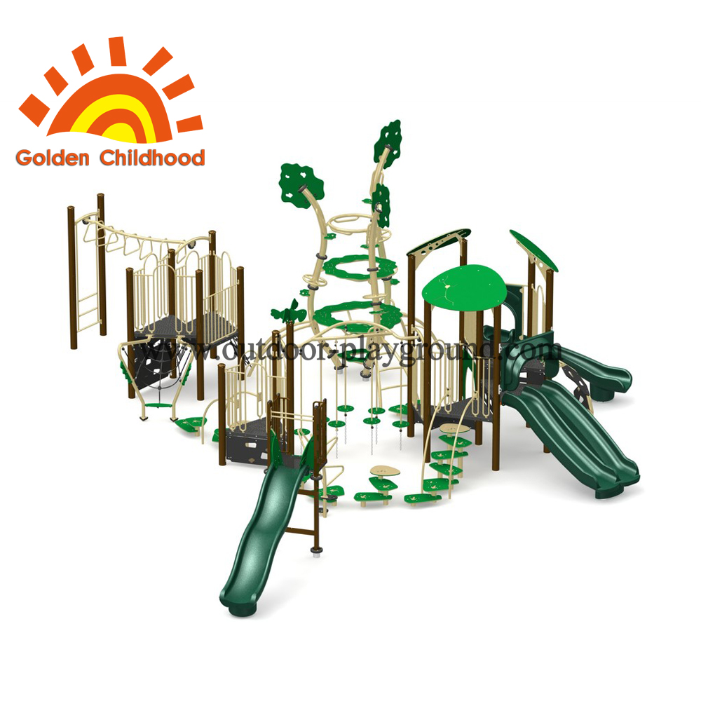 Forest Natural Multiplay Structure