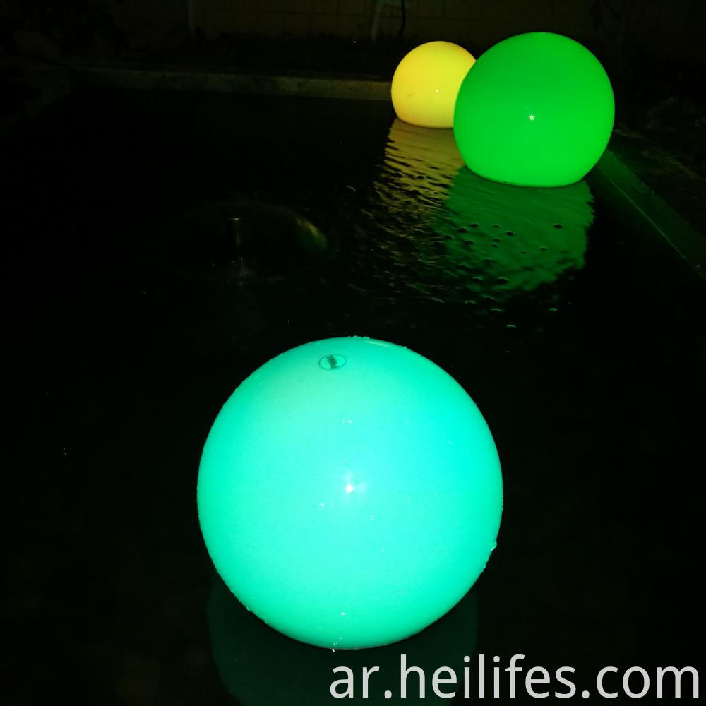 LED Flashing Ball Light