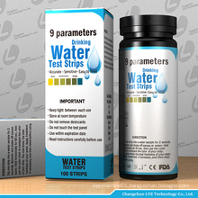 drinking water test strip test kit for liquid