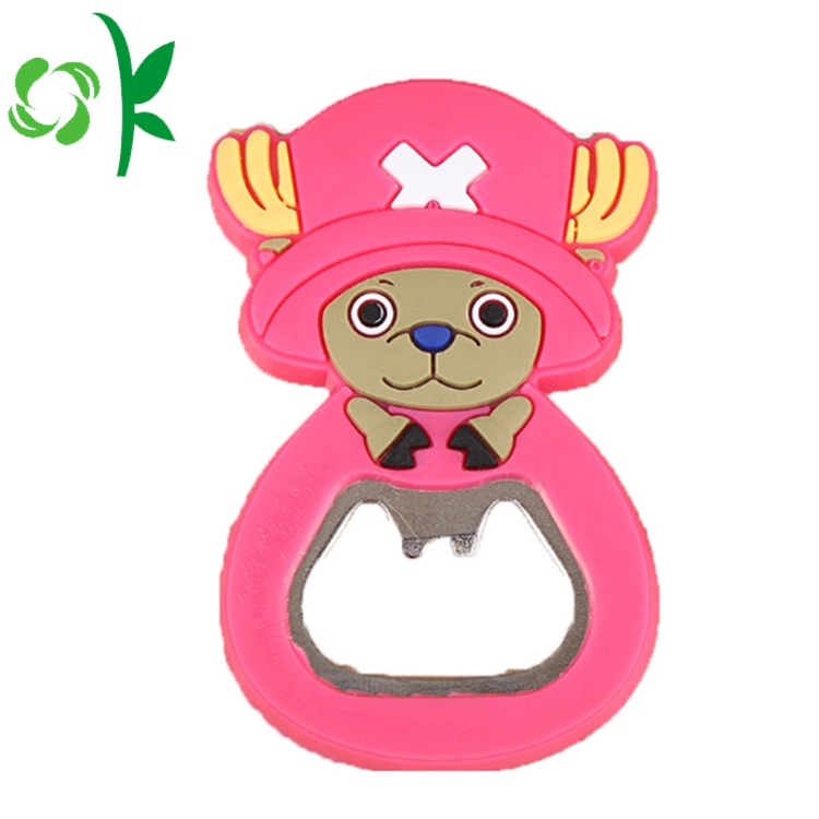 Cute Character Silicone Cup Opener