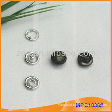 Prong Snap Button/Gripper with fashion Pearl Cap