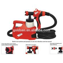 500W HVLP Fußbodenbasierter elektrischer Farben-Sprüher-beweglicher elektrischer Spray-Gewehr GW8177