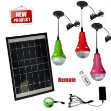 en gros haute qualité approuvé CE & brevet led d'éclairage de la maison solaire