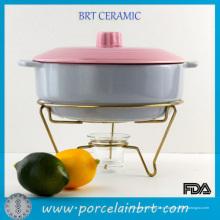 Популярным домашним ресторан посуда популярным домашним ресторан овальные жаровни с металлической подставкой
