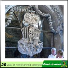 Emblema 3D del fabricante profesional
