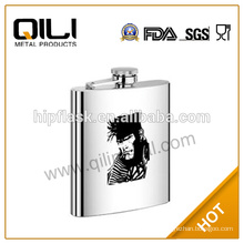 7oz fancy gift items whisky stainless steel antique hip flask for the best choose to woman