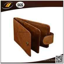 Porte-cartes de visite en cuir véritable de forme personnalisée
