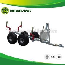 ATV log loader trailer
