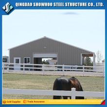 Design Chine Bâtiments agricoles Cabane de vache Prebabricated Barn Horse Stable