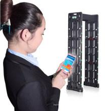 Economic High Sensitivity Door Metal Detector Security Gate Sound or LED Alarm