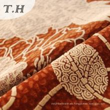 Nuevo diseño Flock Fabric para cortina