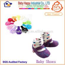 Chaussures bébé de haute qualité Chaussettes et bandeau