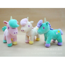 Niedliche populäre gefüllte Plüsch-Einhornspielzeug-weiche Spielzeuggewohnheit Kinderspielwaren für Mädchen