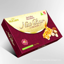 Color Paper Box for Nut Packing