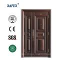 Puerta de acero de alta calidad de Mother Son Cooper Color (RA-S119)