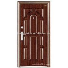 Portas de entrada externas, porta blindada de aço de segurança