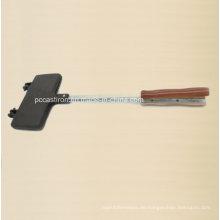 Gefaltete vorgewählte Gusseisen Kuchenform Clip mit Griff