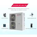 EVI Air Source to Water divide las evaluaciones de la bomba de calor con el intercambiador para satisfacer la necesidad de usar la piscina y el hogar