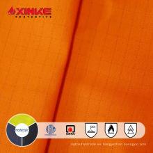 Xinke protector NFPA 2112 tela resistente al fuego inherentemente resistente al fuego modacrrylic