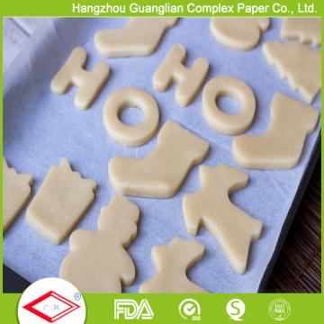 Papel resistente ao calor do cozimento do silicone de 16inch X 24inch para a exportação