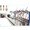 Small automatic spray machine have uv drying function