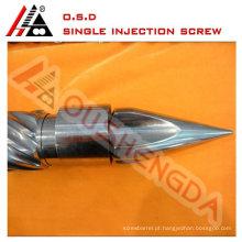 parafuso de injeção de vida útil mais longa e cilindro para máquina de moldagem por injeção