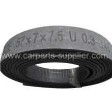 Rolos de forro de freio de fibra livre de amianto