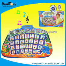 Smart baby playmat learning mat with music