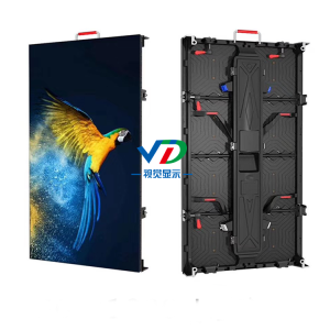 PH4.81 Indoor Mobile LED Display dengan Kabinet 500x1000mm