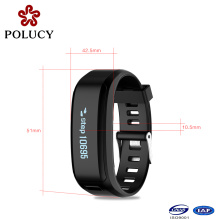 Fashion Latest Design Heart Rate Smart Bracelet with Waterproof Bluetooth Watch