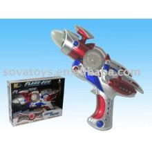 905990623 juguete de plástico, disparando arma de juguete, B / O PISTOLA ESPACIAL CON LUZ Y SONIDO